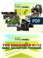 DEPED - K to 12 Assessment & Rating - 2012