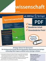 Deutche Sportwissenschaft Journal