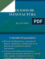 Porcesos de Manufactura