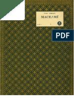 Macrame Dmc