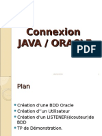 Connexion Java Oracle