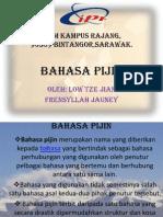 an Bm(Bahasa Pijin)