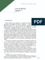 PAIS, José Machado - Análise Social - DURKHEIM, Das Regras do Método Aos Métodos Desregrados [1995][PT]