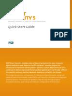 Eset Ess 5 Quick Start Guide Enu