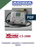 Manual de Mantenimiento y Servicio Citronix Ci-1000