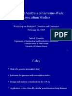 Statistical Genetics Workshop Tasha Fingerlin