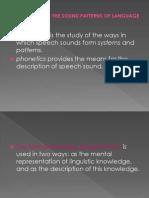 Phonology Slide