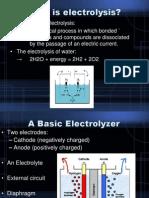 Electrolysis Presentation