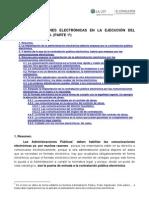 Las comunicaciones electrónicas en la ejecución del contrato de obra. (Parte 1ª)