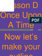 Lesson D Once Upon a Time