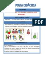 BINGO-RELACIONAR PRONOMES 1ª PERSOA COS DE 2ª.PDF