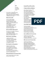 Traduccion Cantatas