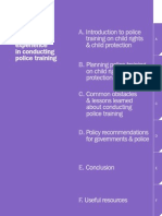 Police Training Manual Part 2 - Lessons Learned