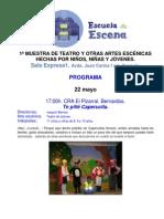 Programa Escuela a Escena