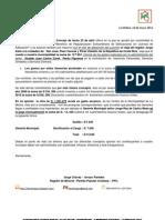 Informe de Regidor - PPC La Molina