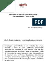 Desenhos de estudos epidemiológico