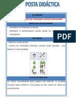Tabla Para Clasificar Pronombres Diferenciando Un o Varios Pose Ed Ores.PDF