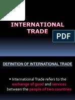 Chapter 11 - International Trade