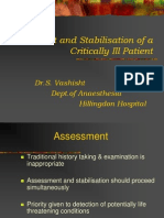 Assessment and Stabilisation Critically Ill Patient