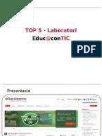 TOP 5 Laboratorio Educacontic [CAT] #2