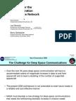 Deep Space Communication Next-gen