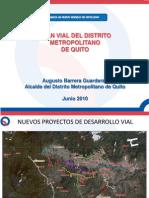 Plan Movilidad Quito
