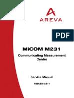 Areva m231 Manual