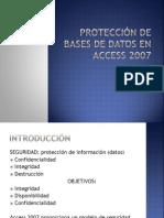 PROTECCIÓN DE BASES DE DATOS EN ACCESS 2007