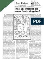 Boletín Parroquial del 05 de febrero de 2012