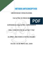 Metodos Anticonceptivos Manual