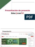 Presentación de Proxecto Educacontic [GAL] #1