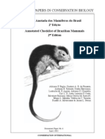 Annotated Checklist of Brazilian Mammals 2nd Edition_LR