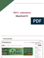 TOP 5 Laboratorio Educ@contic [GAL] #2
