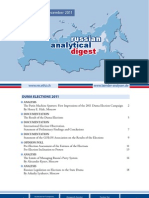 Russian Analytical Digest 106