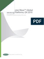 TCS BaNCS AR Forrester Wave%E2%84%A2 Global Banking Platforms 12 2010