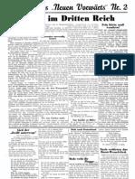 Neuer Vorwaerts - Sozialdemokratisches Wochenblatt 1933-06-25 - Nr. 02 - Beilage (4 S., Scan)