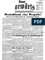 Neuer Vorwaerts - Sozialdemokratisches Wochenblatt 1933-07-02 - Nr. 03 (4 S., Scan)