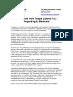 Statement from Illinois Liberty PAC Regarding IL Medicaid