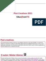 Post Creativos 2011 Educacontic [GAL] #3