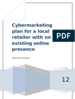 Cyber Marketing Plan for Local Retailer