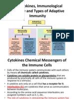 9) Cytokines