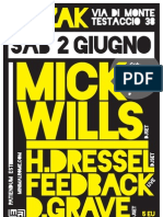 MinimalRome MRX party feat. Mick Wills - 2nd of June 2012