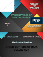 RM-Other Methods of Data Collection