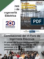 conclusiones Foro 2011