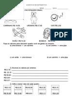EXERCÍCIO DE MATEMÁTICA 2ª série