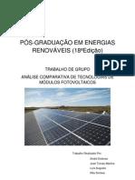 Trabalho PG - Comparação Módulos Fotovoltaicos FINAL