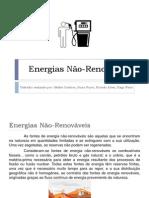 Energias Não-Renováveis