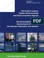 Chernobyl's Legacy Health, Environmentaland Socio-economic Impacts and Recommendations to the Governments of Belarus,the Russian Federation and Ukraine