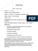 Lesson Plan Special 9 A