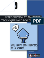 Introduction to Malware Techniques and Logics Part 1 by Gunther